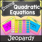 Solving Quadratic Equations Review Activity{Solving Quadratic Equations Activity