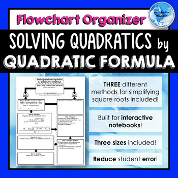 Factoring Graphic Organizer Flowchart Teaching Resources Teachers