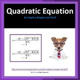 Quadratic Formula Scaffold Notes