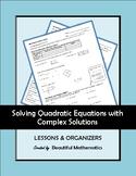 Solving Quadratic Equations with Complex Solutions