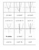 Solving Quadratic Graphs Matching Cards