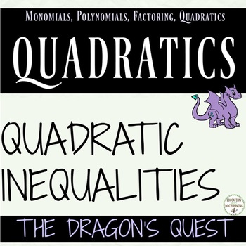Solving Quadratic Inequalities Quest Activity Algebra 2