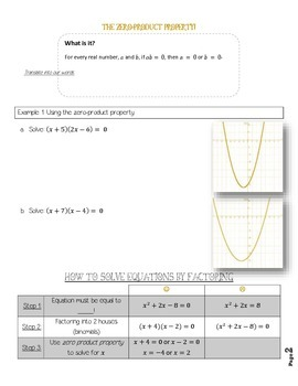 Solving Quadratics