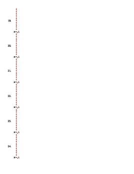 Solving Quadratics BINGO