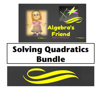 Solving Quadratics Bundle