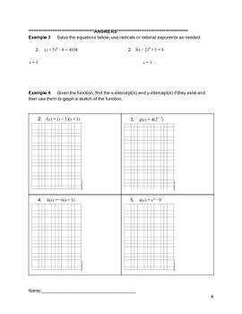 Solving Quadratics Lesson 4 of 10