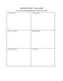 Solving Quadratics- Pick your Method