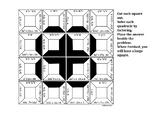 Solving Quadratics Square Puzzle