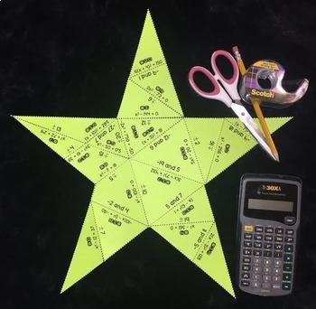 Solving Quadratics Using Square Roots (Puzzle)