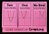 Solving Quadratics by Graphing (Algebra Foldable)