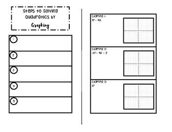 Solving Quadratics by Graphing (Calculator Method)