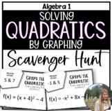 Solving Quadratics by Graphing (Scavenger Hunt)