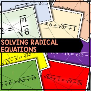 Solving Radical Equation Puzzle