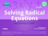 Solving Radical Equations: An Introduction