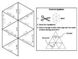 Solving Radical Equations Game: Math Tarsia Puzzle