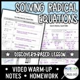 Solving Radical Equations Lesson