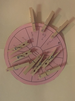 Solving Radical Equations Wheel