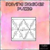 Solving Radicals Card Sort Puzzle