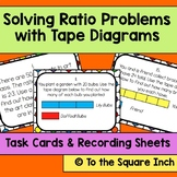 Solving Ratio Problems with Tape Diagrams Task Cards