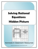 Solving Rational Equations - Hidden Picture