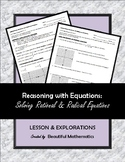 Solving Rational & Radical Equations with Extraneous Solutions