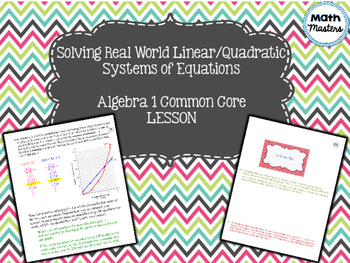Solving Real World Linear Quadratic Systems of Equations