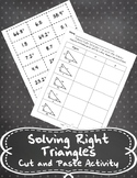 Solving Right Triangles Cut-and-Paste Activity