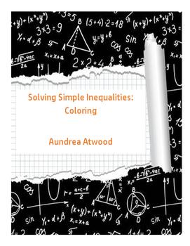 Solving Simple Inequalities: Coloring