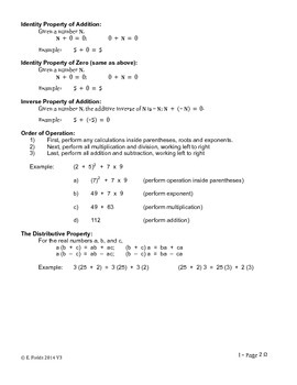 Solving Single Variable Linear Equations, Short Version