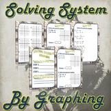 Solving Systems By Graphing - (Guided Notes and Practice)