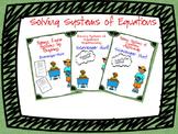 Solving System of Equations (Scavenger Hunt') Bundle