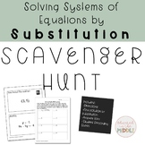 Solving System of Equations by Substitution Activity: Scav