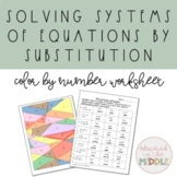 Solving System of Equations using Substitution Activity: c
