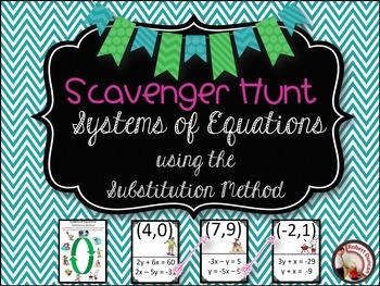 Solving System of Equations using the Substitution Method