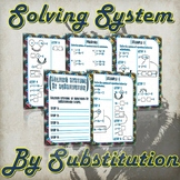 Solving Systems By Substitution - (Guided Notes and Practice)