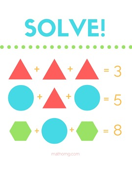 Solving Systems Puzzle