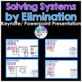 Solving Systems by Elimination PowerPoint/ Keynote