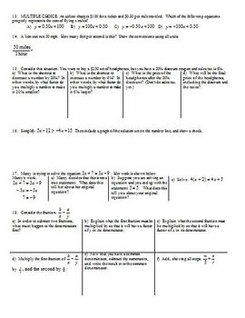 Solving Systems by Graphing Fall 2013 (Editable)
