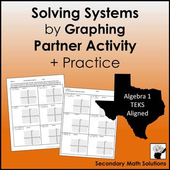 Solving Systems by Graphing Partner Activity