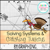 Solving Systems of Equations by Graphing - Thanksgiving Math Activity