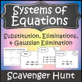 Solving Systems of Equations Activity {Algebra 2 Activities & PreCalc Activities