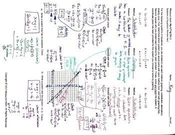 Solving Systems of Equations - Algebra II Trig Ch1.1 (systems) Hw1