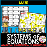Solving Systems of Linear Equations All Methods Maze