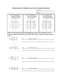 Solving Systems of Equations By Graphing Calculator: Desmos LEAP / State Testing