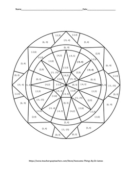cacl2 solution coloring pages | Solving Systems of Equations Color by Number by Awesome ...