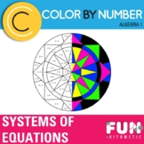 Solving Systems of Equations Color by Number