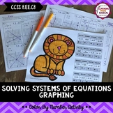 Systems of Equations- Graphing Color By Number Activity