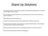 Solving Systems of Equations: Intro Activity