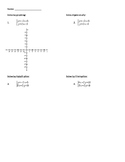 Solving Systems of Equations Practice