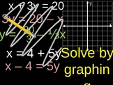 Solving Systems of Equations Presentation - Substitution Method